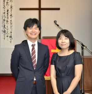 平井聖歩牧師夫妻